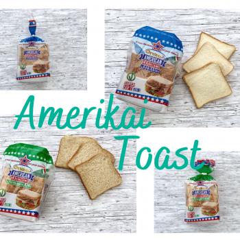 Amerikai Toast kenyerek
