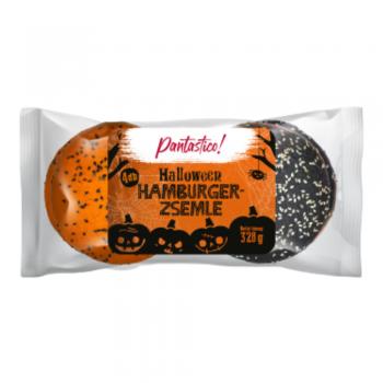 Pantastico! Halloween hamburgerzsemle